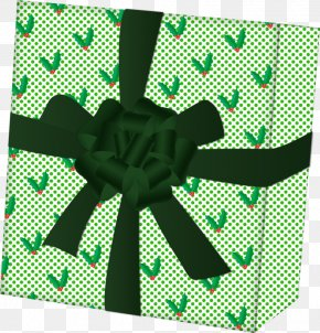 Green Gift Box - Green Gift PNG