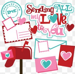 Send Love - Valentine's Day Digital Scrapbooking Clip Art PNG