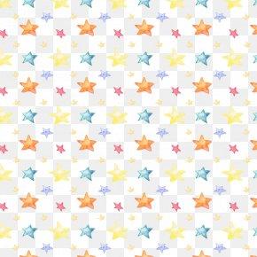 Hand-painted Background Pattern Pentagram - Pentagram Adobe Illustrator PNG