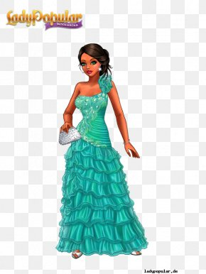 Fashion Beauty - Lady Popular Dress Queen Game Fashion PNG