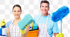 Cleaning - Maid Service Cleaner Commercial Cleaning Business Janitor PNG