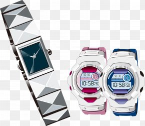 Vector Material Watch Electronic Watch - Clothing Accessories Illustration PNG