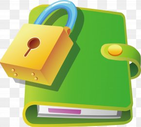 Locked Notebook - Paper Notebook PNG