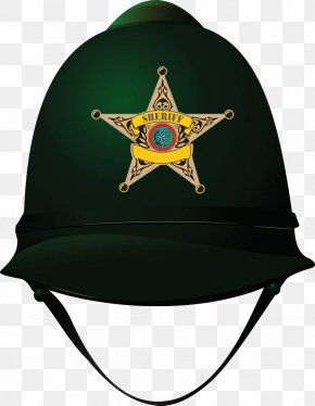Green Police Hat - Social Media Hashtag Social Network Like Button Twitter PNG