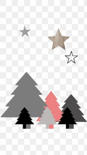 Hand-painted Christmas Tree Background - IPhone 6 IPhone 4 Christmas Tree Wallpaper PNG