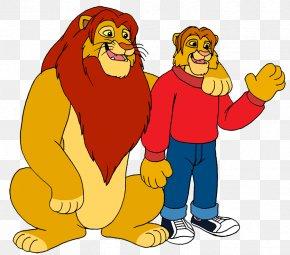 Lion - Lion Simba Mufasa Nala PNG