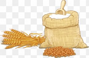 Agricultural Wheat - Wheat Flour Wheat Flour Cereal Clip Art PNG