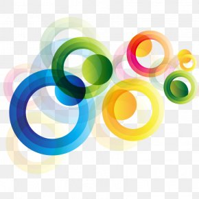Vector Colorful Round - Circle Euclidean Vector Computer File PNG
