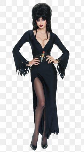 Cosplay - Cassandra Peterson Costume Elvira: Mistress Of The Dark Cosplay Disguise PNG