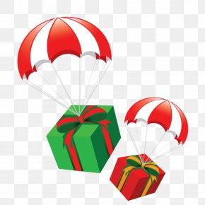Parachute Gift - Christmas Gift Designer PNG