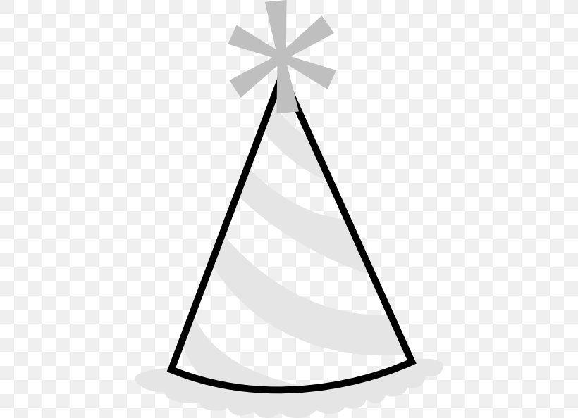 Party Hat Black And White Clip Art Png 438x594px Party Hat Baseball Cap Birthday Black And