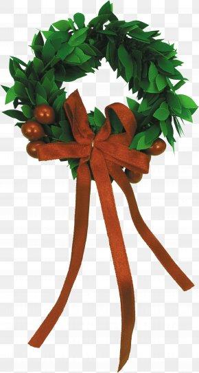 Creative Christmas Wreath - Christmas Advent Wreath New Year Clip Art PNG