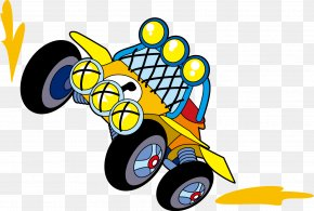 Car - Mode Of Transport Cartoon Clip Art PNG