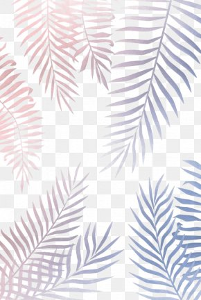 Star Color Palm Leaf - Gold Leaf Wallpaper PNG