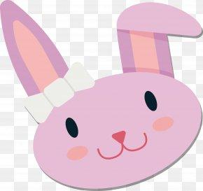 Bunny Sticker Design - Rabbit Sticker PNG