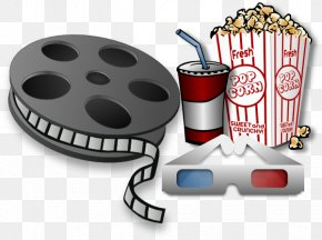 Matinee Cliparts - Film Reel Cinema Clip Art PNG