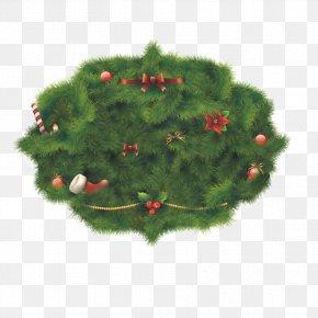 Christmas Lawn - Christmas Card Christmas Ornament PNG
