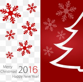 2016 Christmas Card Cover Christmas - Christmas Wedding Invitation Greeting Card New Year PNG