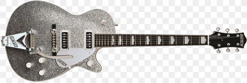 Electric Guitar Gretsch Guitar Wiring Pickup, PNG, 2400x812px, Electric Guitar, Acoustic Electric Guitar, Acousticelectric Guitar, Bigsby, Bigsby Vibrato Tailpiece Download Free