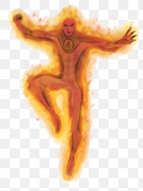 Human Torch Transparent - Human Torch PNG