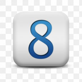Photos Icon Number 8 - Number Clip Art PNG