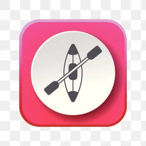Pink Wood Pulp Boat Icon - Photography Icon PNG