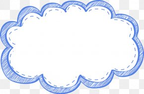 Cute Frame Cliparts - Picture Frame Cloud Clip Art PNG