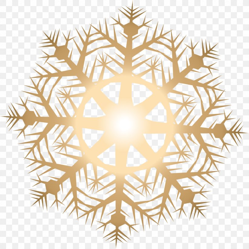 Light Snowflake, PNG, 1024x1024px, Light, Crystal, Gold, Snow, Snowflake Download Free