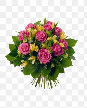Yellow Rose - Flower Bouquet Floristry Rose Cut Flowers PNG