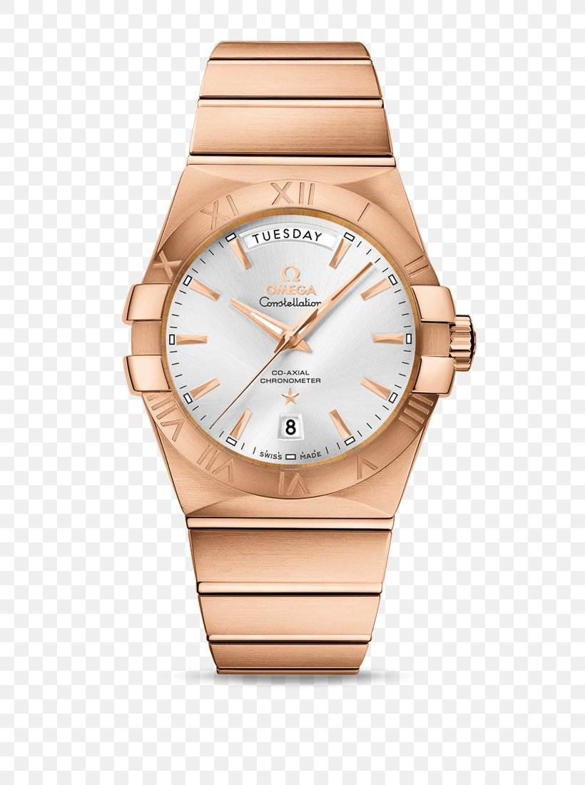 Coaxial Escapement Omega SA Omega Constellation Watch Rolex Day-Date, PNG, 800x1100px, Coaxial Escapement, Automatic Watch, Beige, Bracelet, Brand Download Free