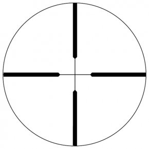 Crosshair Cliparts - Reticle Telescopic Sight Bushnell Corporation Milliradian Optics PNG
