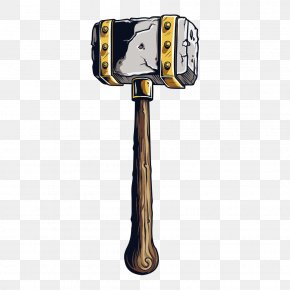Hammer - Hammer Weapon Axe PNG