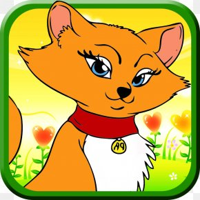 Dog - Red Fox Whiskers Dog Clip Art PNG