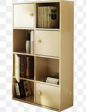 Simple Living Room Bookcase With Doors - Bookcase Cabinetry Shelf Door Living Room PNG