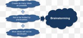 Brainstorming - Brainstorming Management Graphic Organizer Idea Creativity PNG