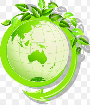 Green Earth - Earth Environmentally Friendly Green Environmental Protection PNG