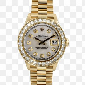 Rolex - Rolex Datejust Watch Diamond Rolex Day-Date PNG