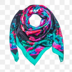 Green Silk Scarf - Scarf Silk Textile Dry Cleaning Australia PNG