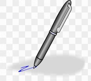 Hand-painted Pen - Paper Fountain Pen Free Content Clip Art PNG