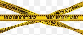 Police Barricade Crime Tape Clip Art Image - Police Crime Barricade Tape Adhesive Tape PNG
