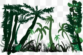 Jungle Silhouette Vector - Heart Of Darkness Nostromo Lord Jim Under Western Eyes Marlow PNG