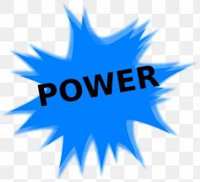 High Power Lens - Electric Power Clip Art PNG