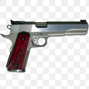 Handgun - Trigger Gun Barrel .45 ACP Firearm Handgun PNG