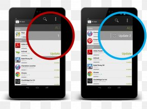 Update Button - Mobile Phones Button Handheld Devices Android User Interface Design PNG