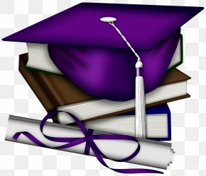 Cap - Square Academic Cap Graduation Ceremony Diploma Academic Degree Clip Art PNG