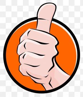 Thumb Up - Thumb Signal Job Clip Art PNG