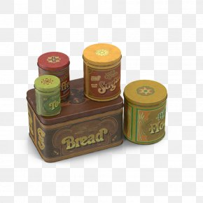 Vintage Kitchen Metal Cans - Tin Can Metal Kitchen Aluminum Can PNG