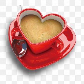 Coffee - Coffee Tea Espresso Cappuccino Heart PNG