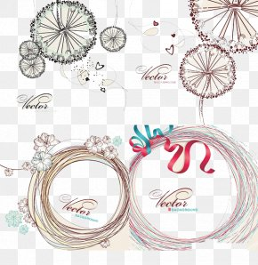 Line Drawing Fashion Elements Background - Euclidean Vector Drawing Line Art PNG