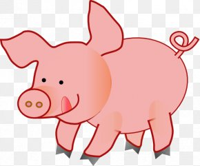 Pink Pig Pictures - The Three Little Pigs Clip Art PNG